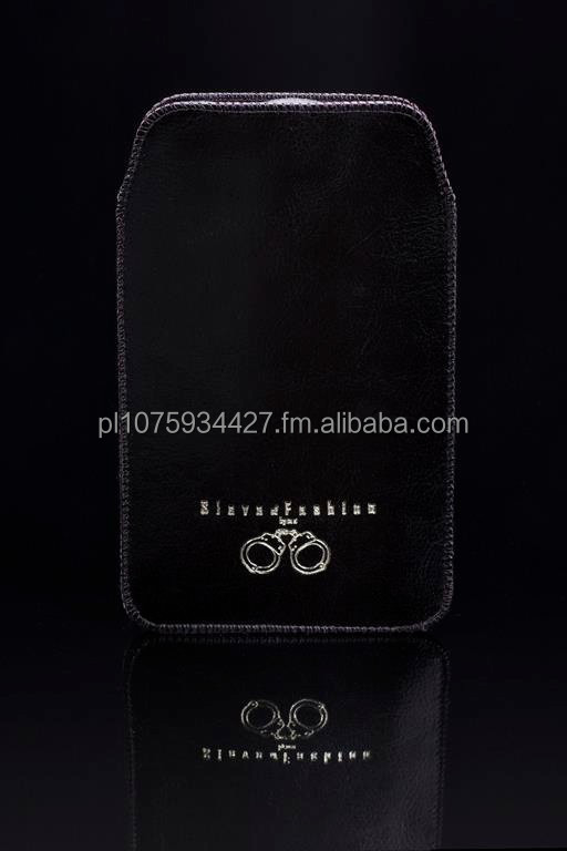 Mobile phone case made of high quality Italian calf leather
