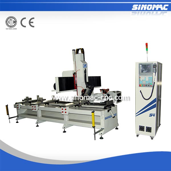 S4-1230SA CNC Router Drilling and Milling Machine for Aluminum Composite