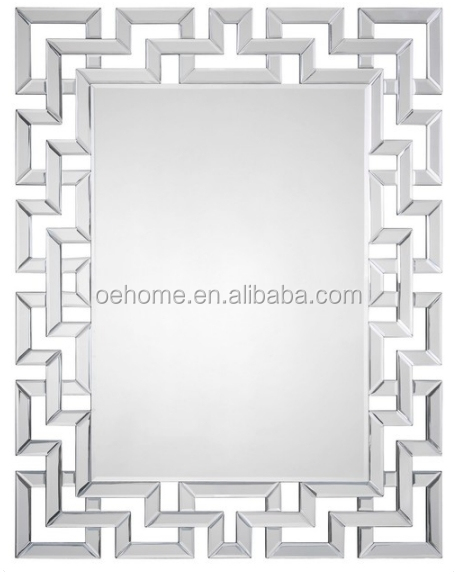 Ornate and Geometric wall mirror