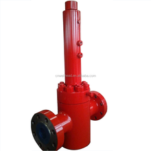 API 6A HIGH PRESSURE HYDRAULIC OPERATED SAFETY VALVE FOR OIL/LARGE PRESSURE REDUCING VALVE/HYDRAULIC RELIEF VALVE