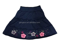 100% Cotton Ruffle Baby Girls Skirt