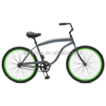 "2016 new design colorful fat tire bike beach cruiser, 26"" steel beach bike,fat bike"