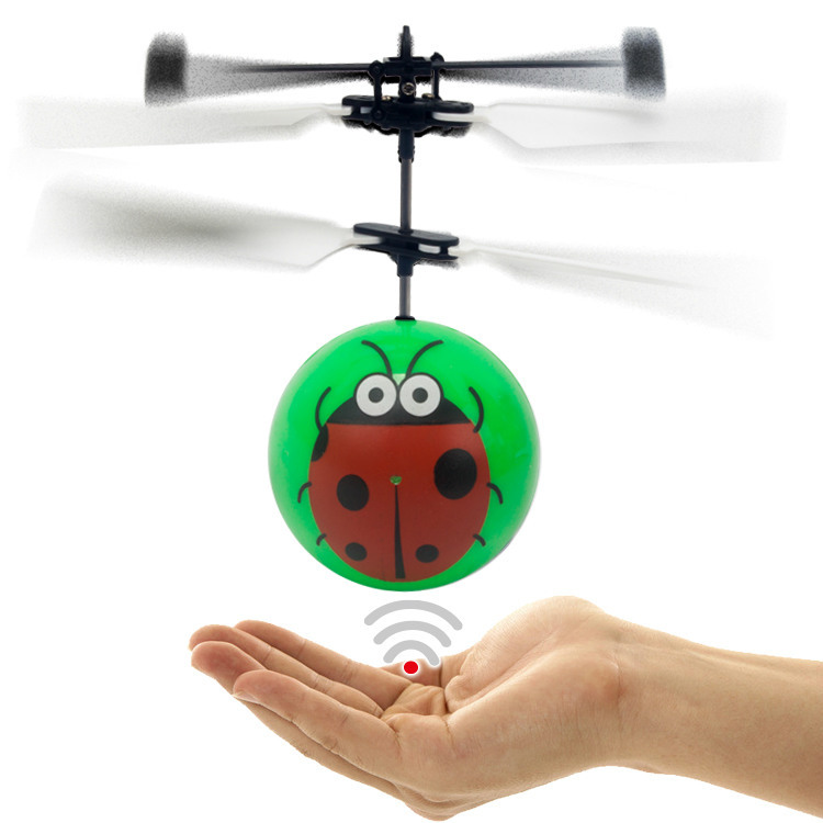 Wholesale multicoloured induction flying ball high speed magic rc toy