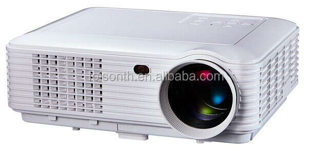 Mini 4K LED Projector 3D Portable Touch Screen Interactive Projector 1080P Android WiFi DLP for Education Home Theater