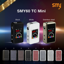 High Quality Electronic Cigarettes Atomizer & hot selling Smy 60 Watt Mini SMY60 TC box mod with Aluminum and Zinc Alloy wit
