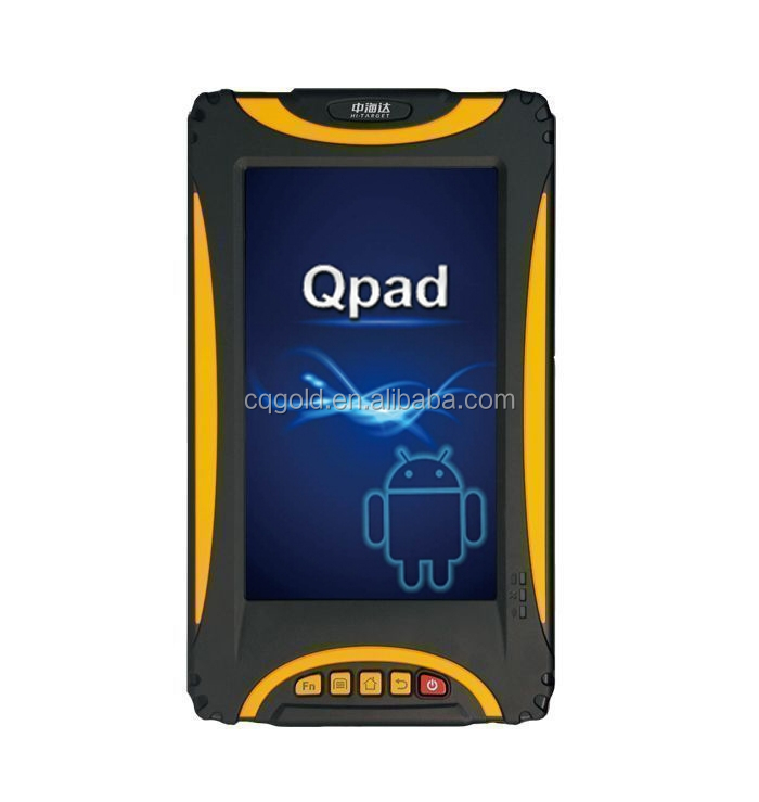 Qpad Hand-held GPS Navigating Tablet GIS Data Collector