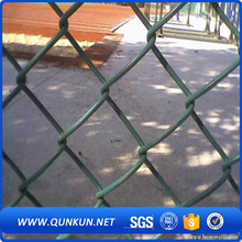 powder coated chain link fence meshpowder coated diamond wire