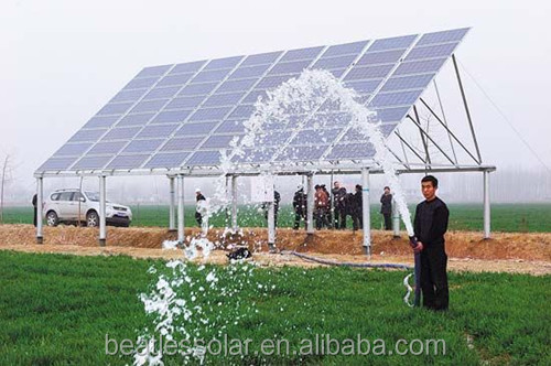10-180M Head High Pressure Solar Water Pump For Deep Well
