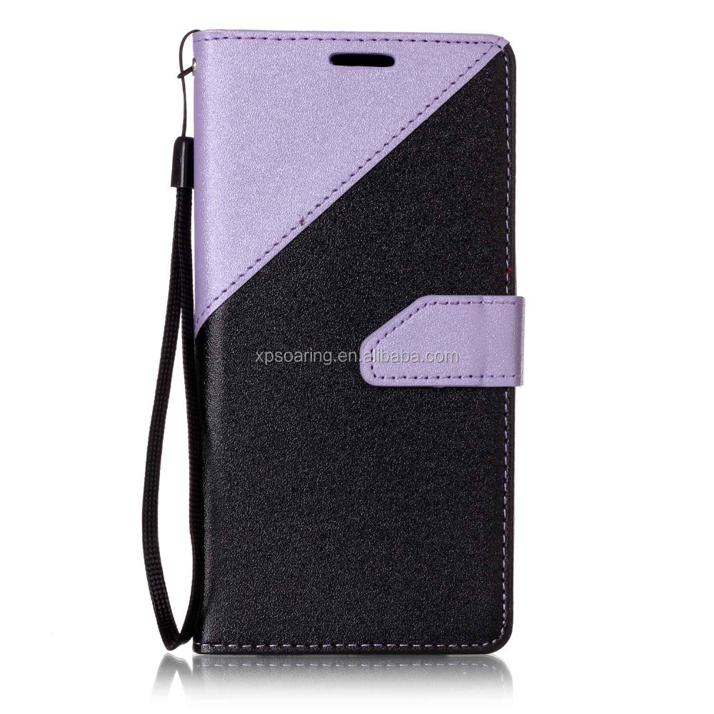 2016 new design Splicing restoring ancient ways PU Leather flip <strong>insert</strong> card phone cover case for LG <strong>K10</strong>