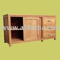AJF BF208 Buffet 3 Drawers 2