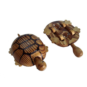 wooden animal tortoise toy for kids or decoration made with wood