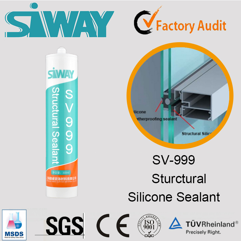 New Brand silicone sealant for glass application & aluminum alloy made in China
