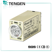 ST6P series AC 380v Adjustable time delay relay