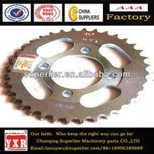 Super Price Loncin Spare Parts Motorcycle Rear Sprockets, bajaj motorcycle chain sprocket kit, cd70 motorcycle chain sprocket