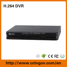 H.264 8CH Embedded linux cctv network DVR surveillance software