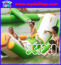 inflatable beach toys see-saw, water totter inflatable
