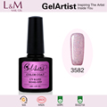 China Professional Manufacturer GelArtist Easy Soak Off Nail Gel UV Polish