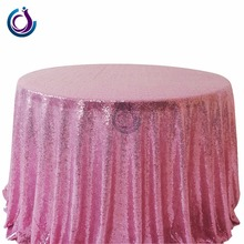 high quality fancy wedding embroidery sequin table cloth