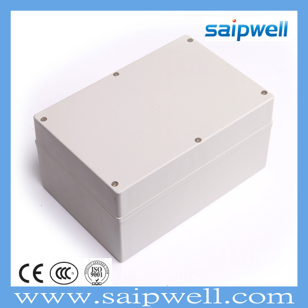 SAIPWELL/SAIP Best Selling Manufacturing Din Rail Box IP67 240*160*90mm Electrical Waterproof Plastic Enclosure(SP-F21)