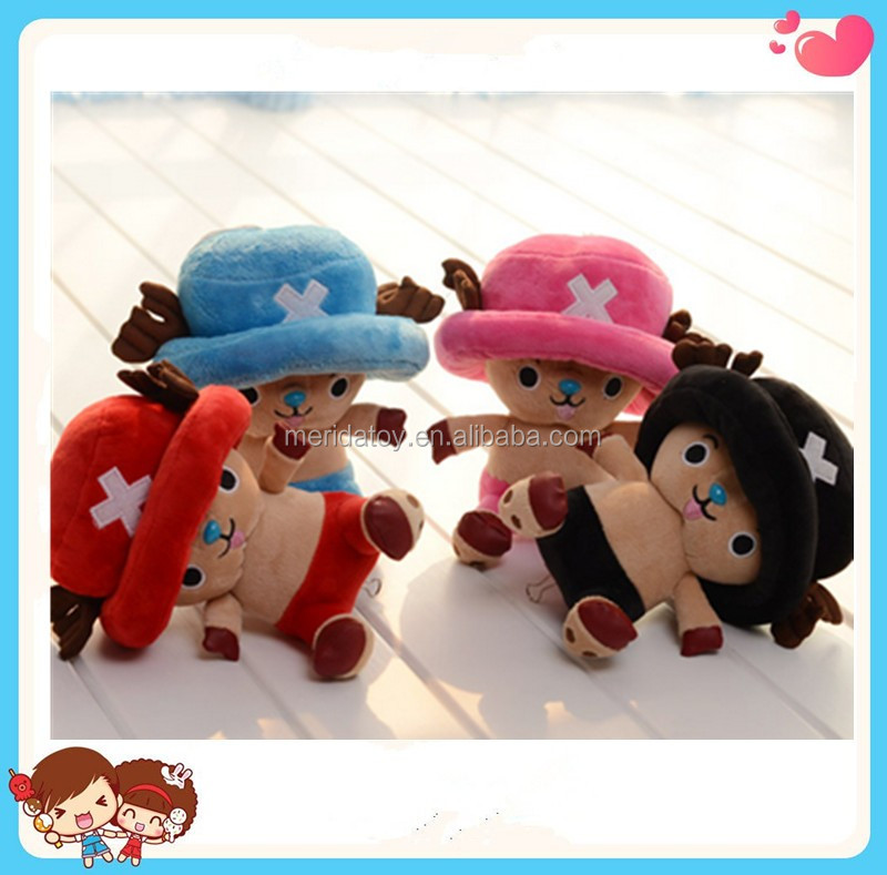 Yangzhou wholesale custom soft stuffed plush chopper toy one piece