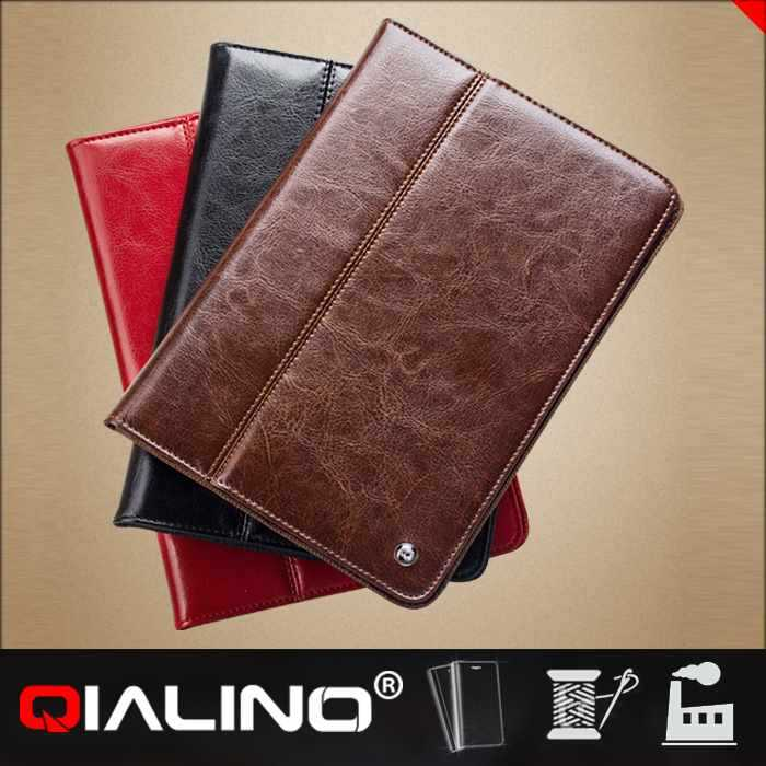 QIALINO Comfortable Design Leather Flip For Ipad Kids Cover