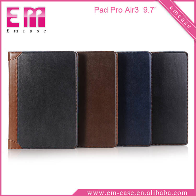 Book Folio Leather Tablet Case For iPad Pro Air3, Tablet PU Case For iPad Pro Air