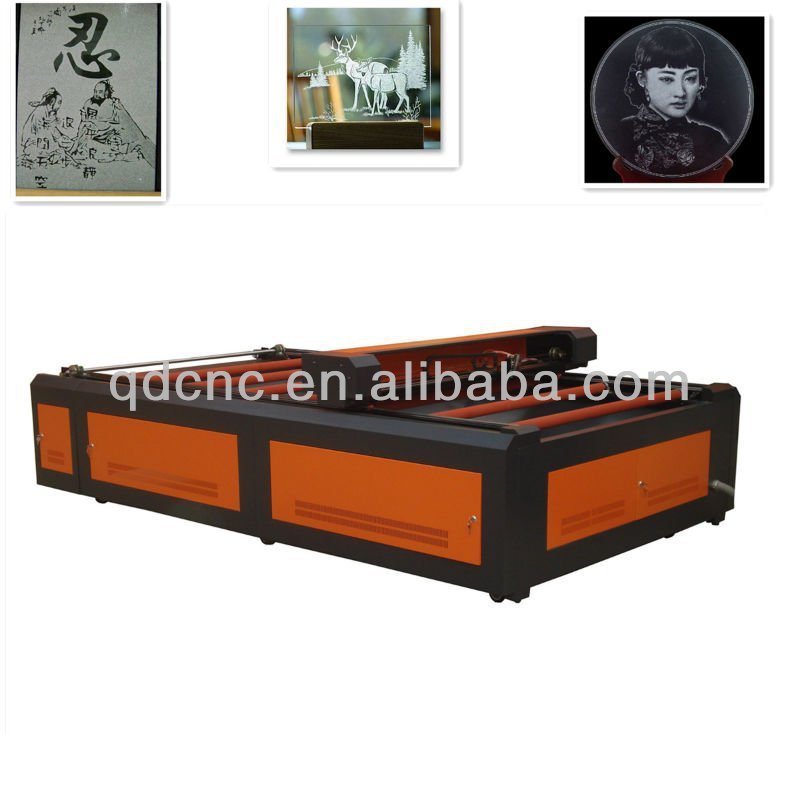 CNC laser glass engraving machine for glass / laser glass machine 1826