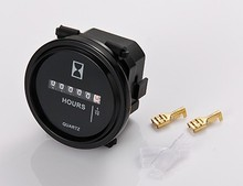 Round Mechanical Hour Meter 12V,24V,36V,48V,72V