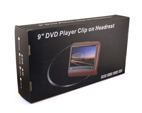 "9"" Hanging Bracket With HDMI Function Car Headrest DVD Player"
