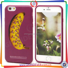 Banana colorful Wholesale 3d Blank Sublimation Phone Cases For Iphone 4 5 5c 6 6plus Case Sublimation Custom