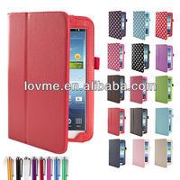 New Leather Smart Case Cover for Samsung Galaxy Tab 3 P3200 7 Inch Tablet