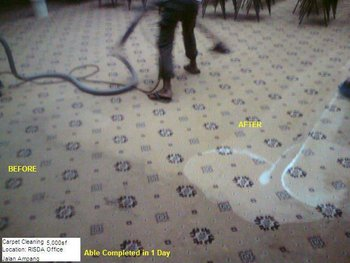 Carpet Cleaning and Polish Floor