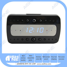 HD 1080P Professional Home Security Easiest Use P2P Mini Wifi Remote Surveillance Desk Clock Camera