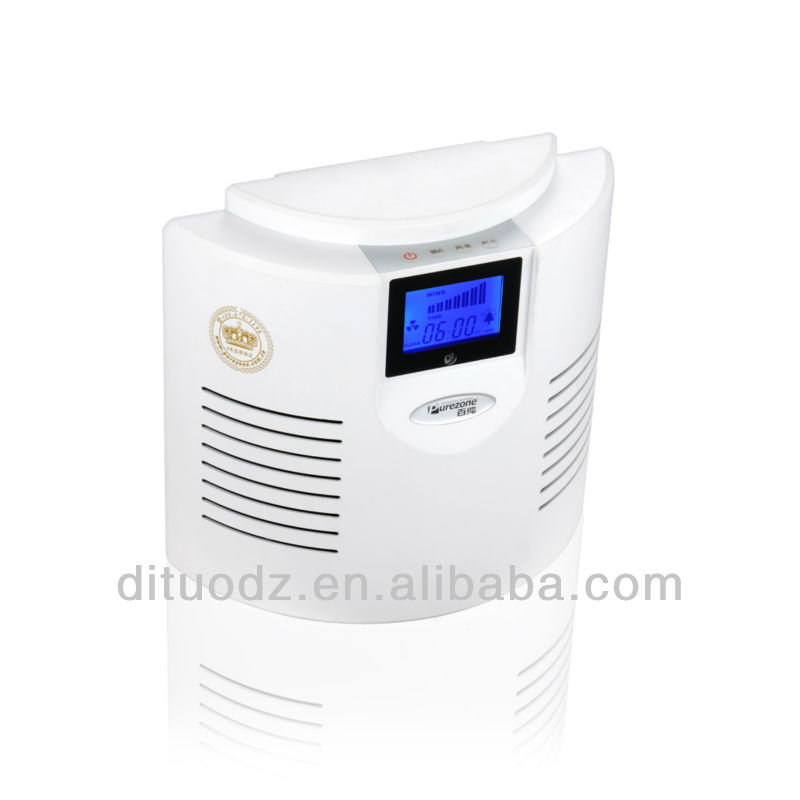 portable air purifier with ozone generator