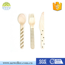Hot sales standard size wooden other cutlery for cake