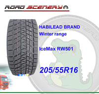 Economic winter range car tire 205/55R16 for ice and snow area
