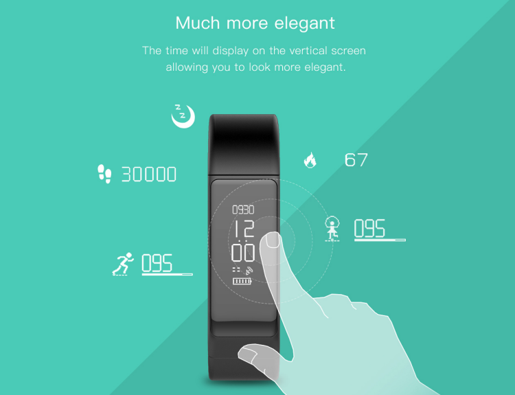 Pedometer Waterproof Sport Smart Bracelet i5 Plus Smartband