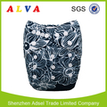 Alvababy Flower Patter Cloth Diapers Wholesale China Washable Cloth Diapers