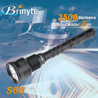 S68 Waterproof Most Powerful Magnetic Extending Flashlight