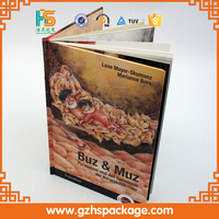 Wholesale Beautiful High Quality Recyclable Used Books, Custom Printing New Design Colorful Hardcover Book