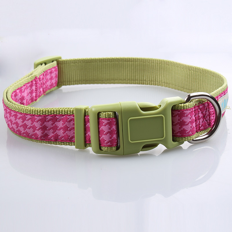 New pet products wholesale dog collars with custom logo