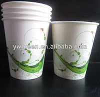 disposable compostable pla paper coffee cup
