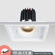 Smart 9W Recessed White Square LED Downlight Retrofit