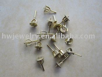 screw back, silver 925, stud earring screw back