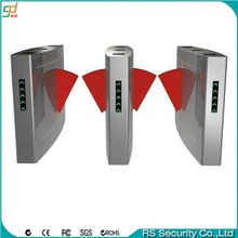 CE approved high durability bi-directional flap barrier turnstile expandable barrier