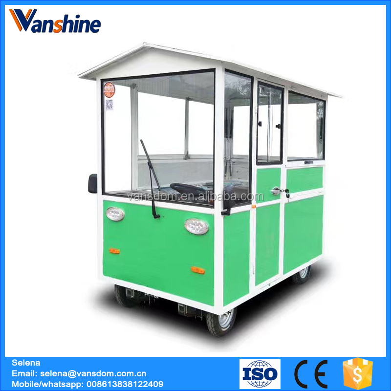 Electric cart food van for sale small electric food cart with factory price