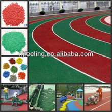 epdm rubber/plastic granule track, artificial turf filling,kindergarten playground, professional, FN-R-141640