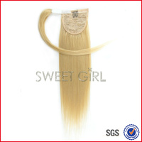 Top soft and smooth 35 cm 613# human hair ponytail