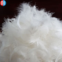 Bulk washed white goose / duck down feathers for sale