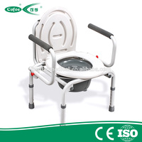 Cofoe Bathroom Safety Equipments toilet chair /shower chair for home use commode with bedpan